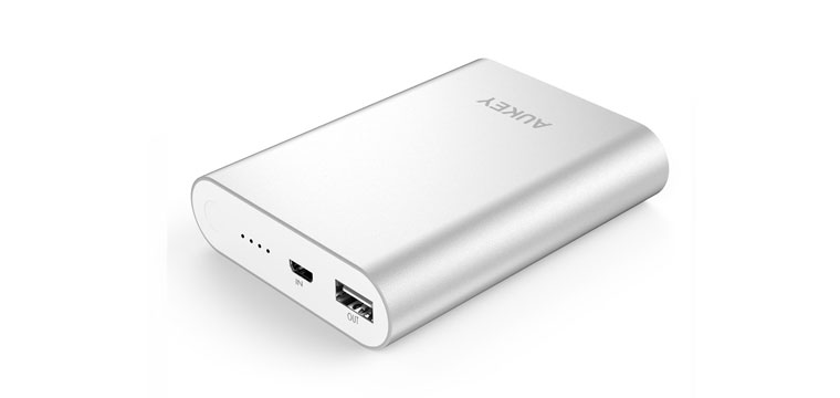 Aukey 10400mAh Quick Charge 2.0 Portable Charger Review