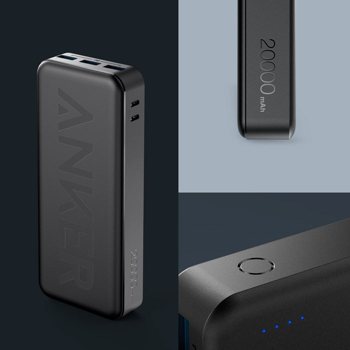 Anker PowerCore II 20000 Power Bank Design