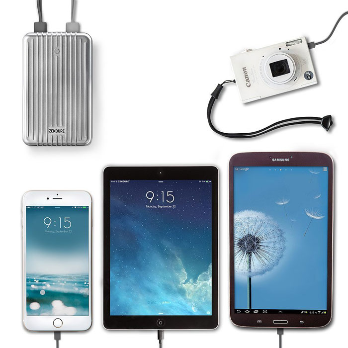 Zendure A8 Quick Charge 3.0 Power Bank Four ports