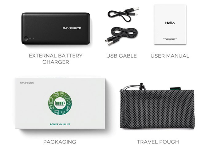 RAVPower 26800mAh Portable Charger Unboxing