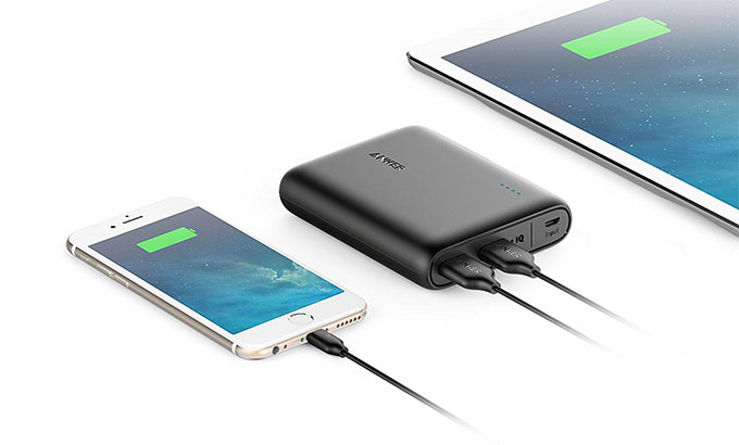 Anker PowerCore 13000 Portable Charger size