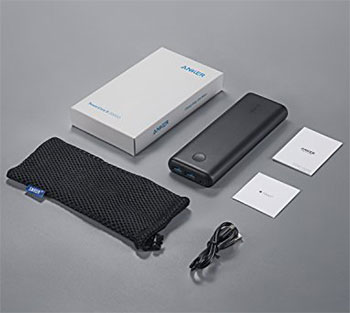 Anker PowerCore II 20000 Portable Charger unboxed