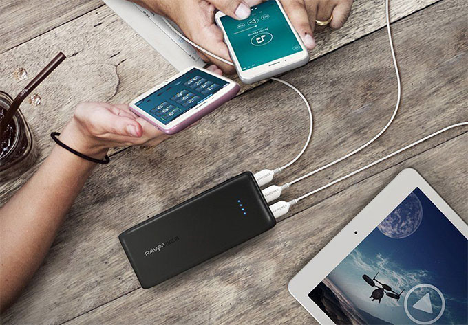 RAVPower 22000mAh Best Power Bank for Tablets